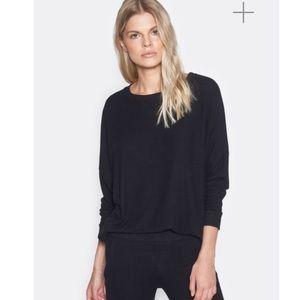 JOIE Jennina Sweatshirt in Black NWT